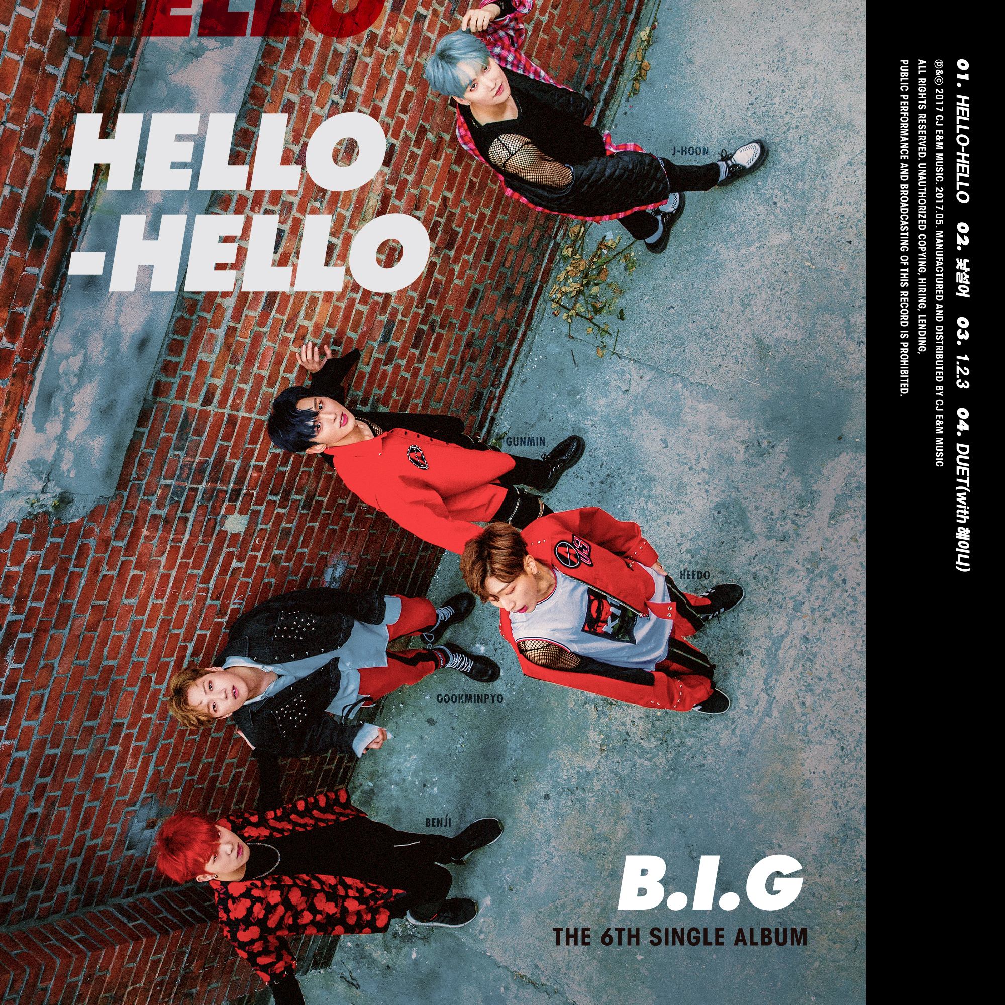 6TH SINGLE ALBUM [HELLO HELLO]
